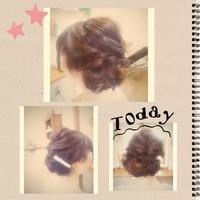 ヘアアレンジ ミディアム - 松江市美容室 hair atelier bonet  大人女性のための美容室 。