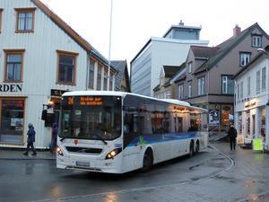 トロムソ路線バスのチケットが買える場所 - ノルウェー北極圏の街へ