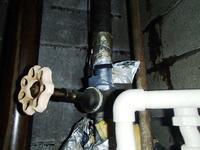 築50年のマンションPS内の水トラブル1階の店舗電源ダウンで緊急断水を強行しました - 快適!! 奥沢リフォームなび
