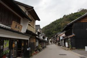 愛知県 足助町 - on the road