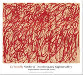 Cy Twombly: Bacchus, 2006–08 ポスター - Satellite