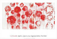 Cy Twombly: Blooming, 2001–08 ポスター - Satellite