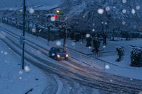 初雪 - デジカメ写真集