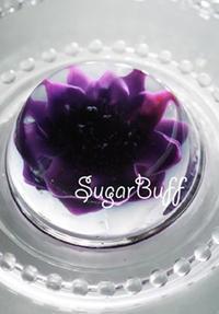 【1・2月開講】3Dフラワーゼリーケーキ受講者募集! - シュガークラフト教室 シュガーバフ 2時間くらいのミニクラスのご案内