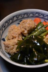 鶏団子と野菜の煮物 - おいしい日記