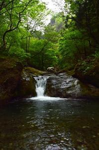 初夏のただよい名もない小さな滝へ - 光画日記