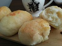 塩バターパンの朝ごぱん - 料理研究家ブログ行長万里  日本全国 美味しい話