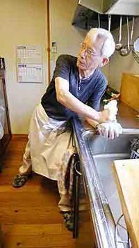 松下銀次郎さんの料理教室について。 - ななかまどの 「笑う食卓」 ~松下銀次郎さんの魔法のレシピを中心に~