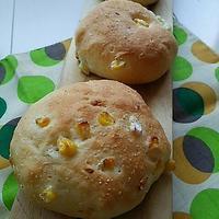 コーンパンの朝ごぱん - 料理研究家ブログ行長万里  日本全国 美味しい話