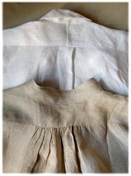 夏はリネンのシャツがいいね - nazunaニッキ