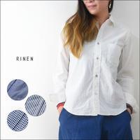 RINEN [リネン] 80/2ダウンプルーフレギュラーカラーシャツ [36000] LADY'S - refalt blog