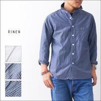 RINEN[リネン] 80/2ダウンプルーフレギュラーカラーシャツ[38000] MEN'S - refalt blog