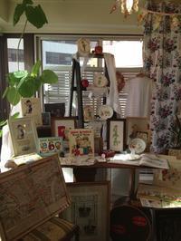 ●Shinshia シンシアさんの刺繍作品 予告④ 「英国の小さなブックフェア」より - 英国古物店 PISKEY VINTAGE/ピスキーヴィンテージのあれこれ