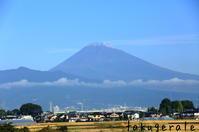 富士山初冠雪 - WHOPPER(^^♪