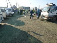 H29  大田原マラソン大会前の道路掃除ボランティア - カワケンのほほんブログ