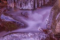多摩川源流の氷の世界 - デジカメ写真集