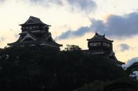 熊本城はいろんな表情を見せる。 - もりじいの備忘録。