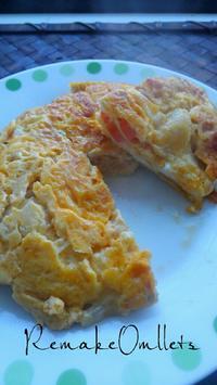 リメイクオムレツの朝ごはん - 料理研究家ブログ行長万里  日本全国 美味しい話