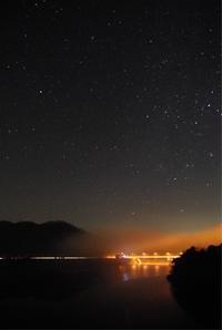 [撮影] 星空@東広島 福富ダム - ( どーもボキです > Z_ ̄∂