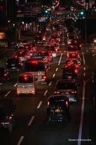 国道57号(熊本東バイパス)の渋滞 - Mark.M.Watanabeの熊本撮影紀行