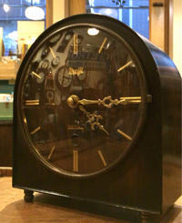 MEIJI 明治時計 30day 置き時計修理 - トライフル・西荻窪・時計修理とアンティーク時計の店