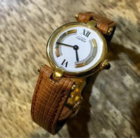 cartier カルティエ マスト クオーツ オーバーホール - トライフル・西荻窪・時計修理とアンティーク時計の店