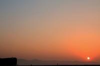 窓に朝陽が - ゆる鉄DEイコー!