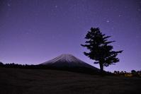 富士ヶ嶺で出会った富士山 - 風とこだま