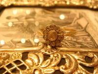 ローズカットダイヤの愛らしいリング - AntiqueJewellery GoodWill