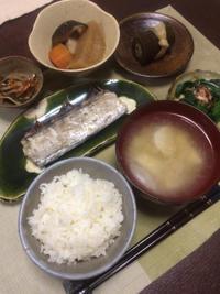 太刀魚の塩焼き - 庶民のショボい食卓
