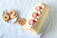 いちごのロールケーキ - Bon appetit!