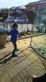 野球練習 - ~ワンパク男子子育て中~