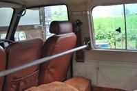 車内積載用バーとミルスペックなシートベルト製作 - 椅子とクルマとコーヒーと