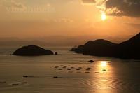 塩浜公園からの夕日 - みちはた写真館フォトギャラリー