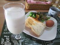 朝食に(^^♪ バナナジュース - candy&sarry&・・・