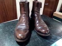 【Tricker's】しっとり仕上げで - 池袋西武5F靴磨き・シューリペア工房