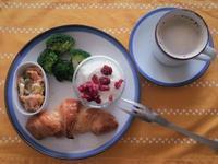 クロワッパンで朝食を - パンと焼き菓子の記録