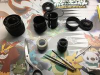ペンタックスのレンズ「smc PENTAX-DA 18-55mm F3.5-5.6 AL II 」を分解・清掃する。2回目 - ( どーもボキです > Z_ ̄∂