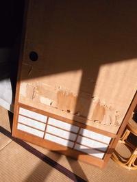 襖紙貼り - 古寺54番地