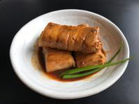 豆腐の肉巻き(コチュジャン) - ぼっちオバサン食堂