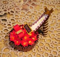 バレンタインに向けて試作品 - La Petite Poucette    ~神戸よりペーパーアートの作品と講座のご紹介~