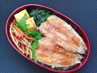1/10イワシの蒲焼き丼弁当 - ひとりぼっちランチ