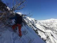 西黒尾根climb &ride - じゅんりなブログ