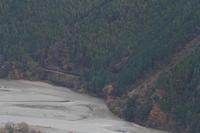 大井川と山の隙間- 2016年初冬・大井川 - - ねこの撮った汽車