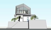 基礎コンクリート 高槻 安岡寺の住宅 - 建築と設計の記録 okuwada architects office