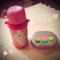 【2歳11ヶ月】お弁当箱と水筒 - ふくふくライフ はじめての育児日記