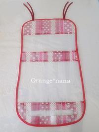 久しぶりにランドセルカバーを作りました(ハンドメイド・雑貨DIY部門) - Orange*nana:はりねずみが今日も作っちゃうよぉ!