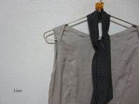 イタリアンシルクのワンピースでリメイクストール 2 - Lien Style (脱保湿×しまつの良い暮らし)