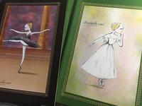 バレエイラストノート - 絵を描くきもち-イツコルベイユ