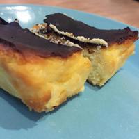 焼き菓子活動 ーバスクのチーズケーキ そしてお試し受験2つ目 - 会社員母の職場弁と女子中学生弁と焼き菓子と